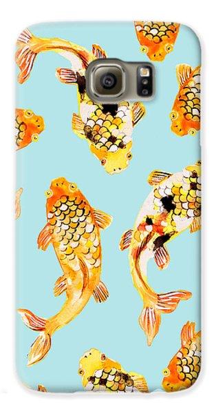 Goldfish Galaxy S6 Case by Uma Gokhale