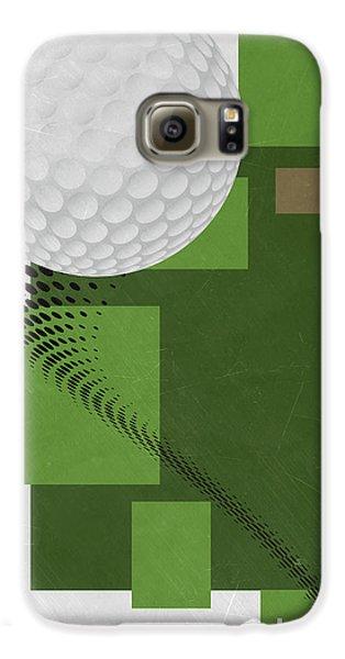 Golf Art Par 4 Galaxy S6 Case