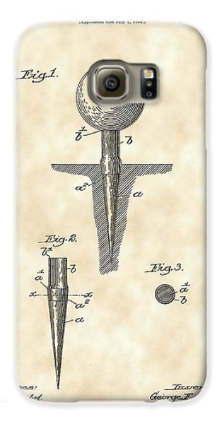 Golf Tee Patent 1899 - Vintage Galaxy S6 Case by Stephen Younts