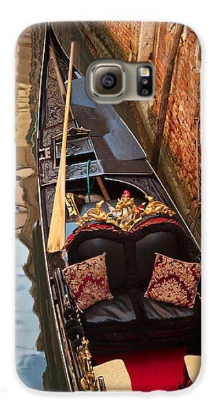 Gondola At Rest Galaxy S6 Case by Kim Wilson