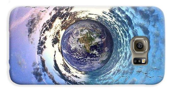 Sky Galaxy S6 Case - Good Morning World  by Joan McCool