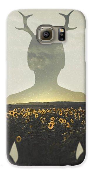 Sunflower Galaxy S6 Case - Goodbye Summer by Art of Invi