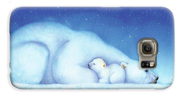 Arctic Bears, Goodnight Nanook Galaxy S6 Case by Tracy Herrmann