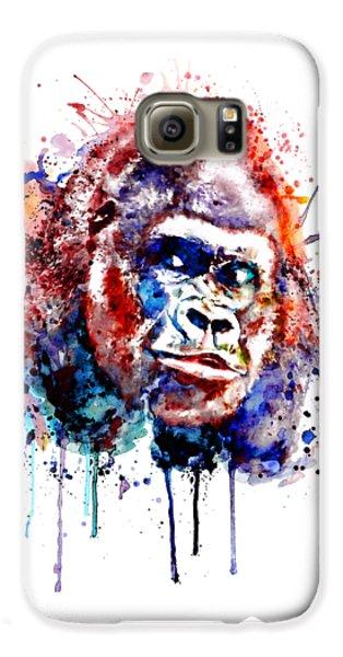 Gorilla Galaxy S6 Case - Gorilla by Marian Voicu