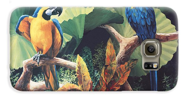 Gossips Galaxy S6 Case by Laurie Hein