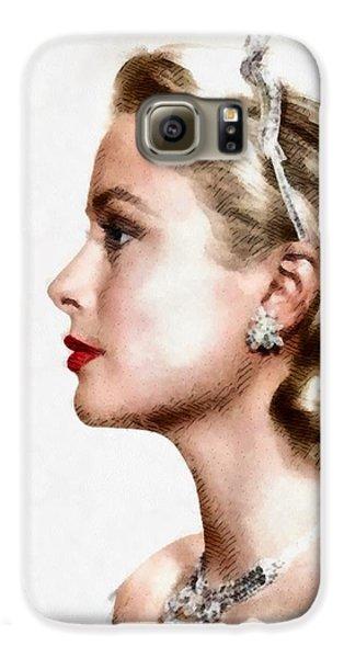Grace Kelly Galaxy S6 Case - Grace Kelly, Actress And Princess by John Springfield
