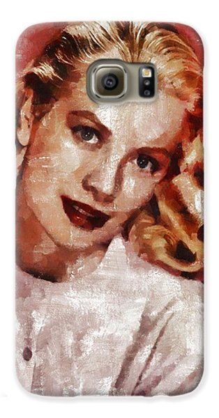 Grace Kelly, Actress And Princess Galaxy S6 Case by Mary Bassett