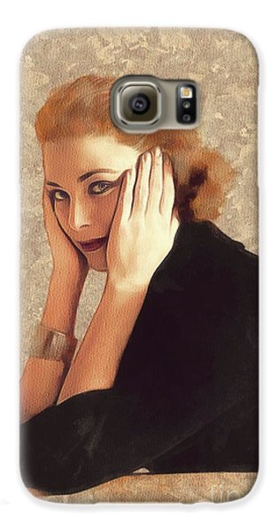 Grace Kelly Galaxy S6 Case - Grace Kelly, Hollywood Legend by Mary Bassett