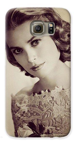 Grace Kelly Galaxy S6 Case - Grace Kelly, Movie Star by Esoterica Art Agency