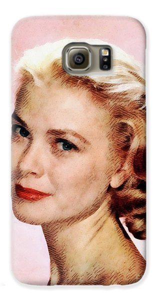 Grace Kelly Galaxy S6 Case - Grace Kelly, Vintage Actress by John Springfield
