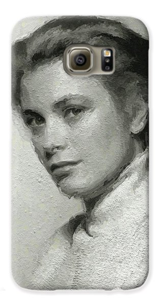 Grace Kelly, Vintage Actress Galaxy S6 Case