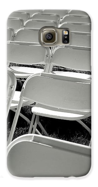 Graduation Day- Black And White Photography By Linda Woods Galaxy S6 Case by Linda Woods
