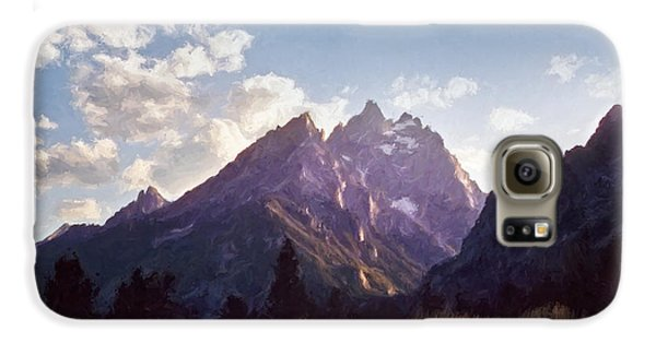 Mountain Sunset Galaxy S6 Case - Grand Teton by Scott Norris