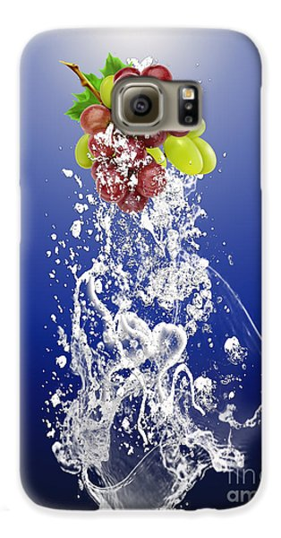 Grape Splash Galaxy S6 Case by Marvin Blaine
