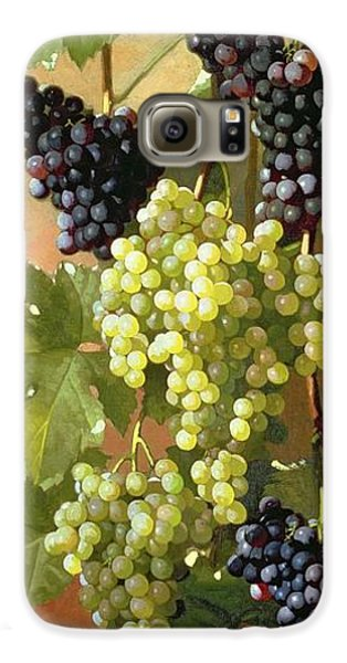 Grapes Galaxy S6 Case by Edward Chalmers Leavitt