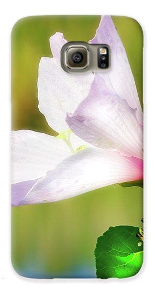 Grasshopper And Flower Galaxy S6 Case