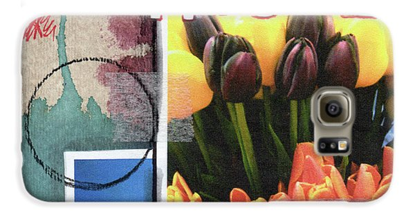 Tulip Galaxy S6 Case - Gratitude- Art By Linda Woods by Linda Woods