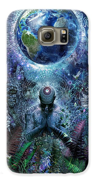 Gratitude For The Earth And Sky Galaxy S6 Case