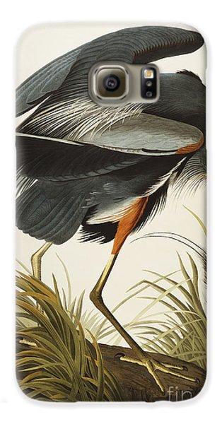 Great Blue Heron Galaxy S6 Case
