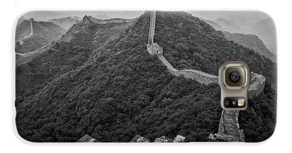 Galaxy S6 Case featuring the photograph Great Wall 2, Jinshanling, 2016 by Hitendra SINKAR