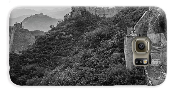 Galaxy S6 Case featuring the photograph Great Wall 3, Jinshanling, 2016 by Hitendra SINKAR