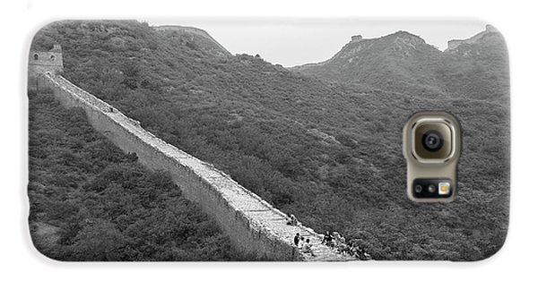 Galaxy S6 Case featuring the photograph Great Wall 4, Jinshanling, 2016 by Hitendra SINKAR