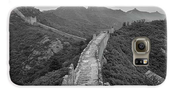 Galaxy S6 Case featuring the photograph Great Wall 6, Jinshanling, 2016 by Hitendra SINKAR