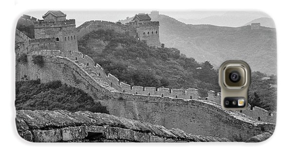 Galaxy S6 Case featuring the photograph Great Wall 7, Jinshanling, 2016 by Hitendra SINKAR