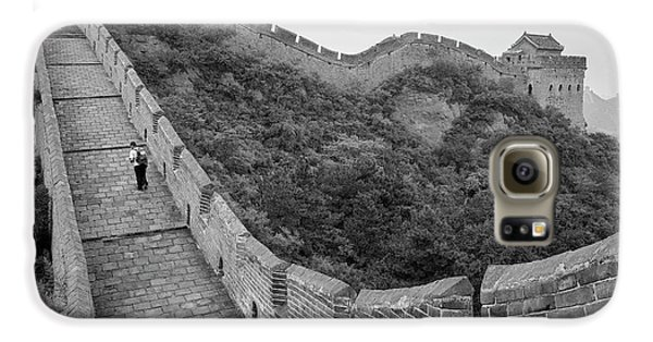 Galaxy S6 Case featuring the photograph Great Wall 9, Jinshanling, 2016 by Hitendra SINKAR