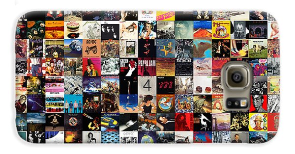 Rock And Roll Galaxy S6 Case - Greatest Album Covers Of All Time by Zapista