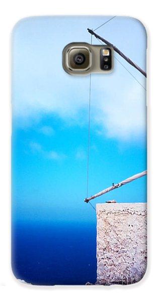 Greek Windmill Galaxy S6 Case