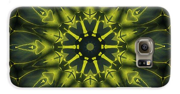 Succulent Mandala Galaxy S6 Case by Yulia Kazansky