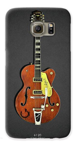 Guitar Galaxy S6 Case - Gretsch 6120 1956 by Mark Rogan