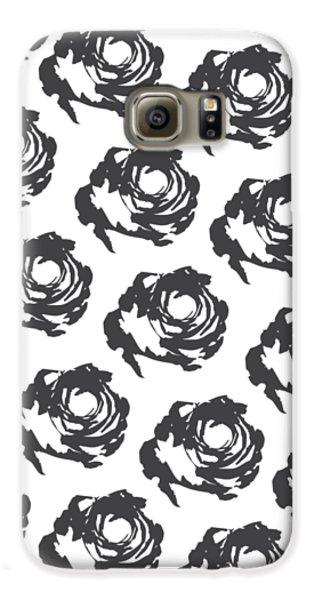 Grey Roses Galaxy S6 Case by Cortney Herron
