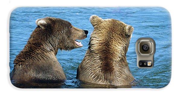 Grizzly Bear Talk Galaxy S6 Case