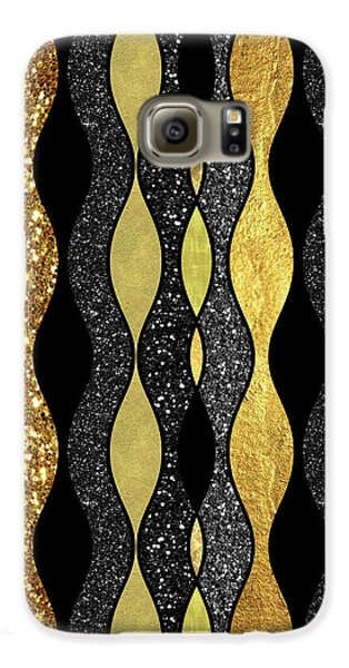 Groovy, Baby Modern Take On A Retro 1960s Design Galaxy S6 Case by Tina Lavoie