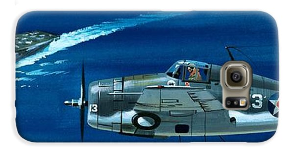 Airplane Galaxy S6 Case - Grumman F4rf-3 Wildcat by Wilf Hardy