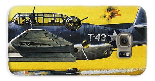 Grummen Tbf1 Avenger Bomber Galaxy S6 Case by Wilf Hardy