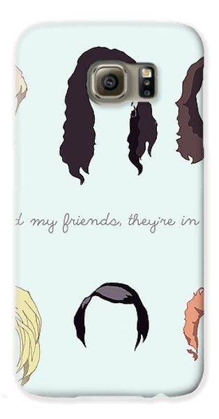 Grunge Hair Galaxy S6 Case