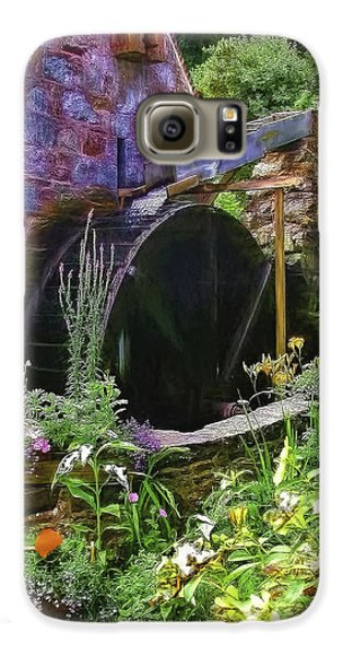 Guernsey Moulin Or Waterwheel Galaxy S6 Case