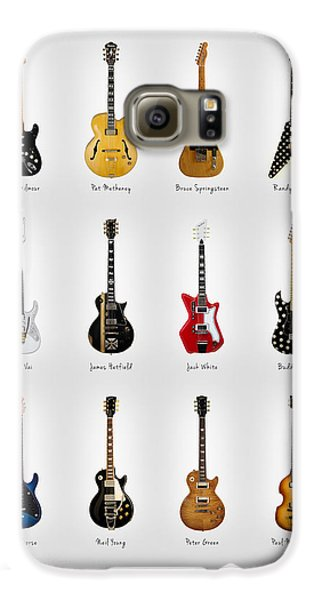 Guitar Icons No2 Galaxy S6 Case by Mark Rogan