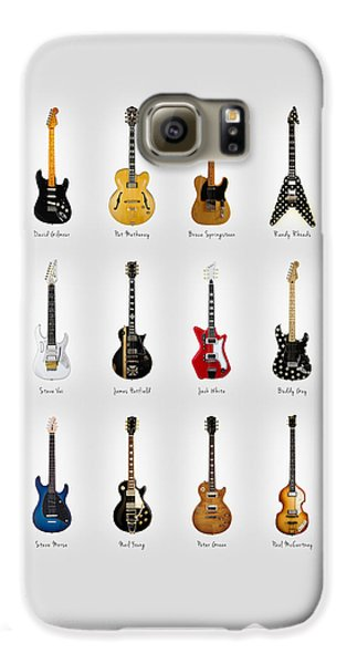 Bruce Springsteen Galaxy S6 Case - Guitar Icons No2 by Mark Rogan