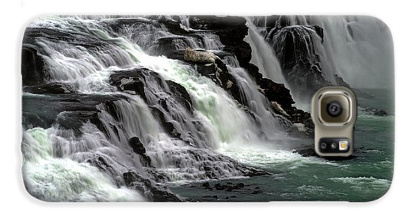 Gullfoss Waterfalls, Iceland Galaxy S6 Case