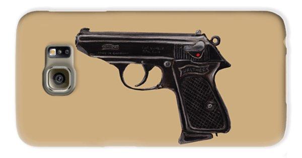 Gun - Pistol - Walther Ppk Galaxy S6 Case