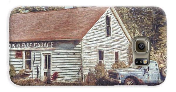 Truck Galaxy S6 Case - Gus Klenke Garage by Scott Norris