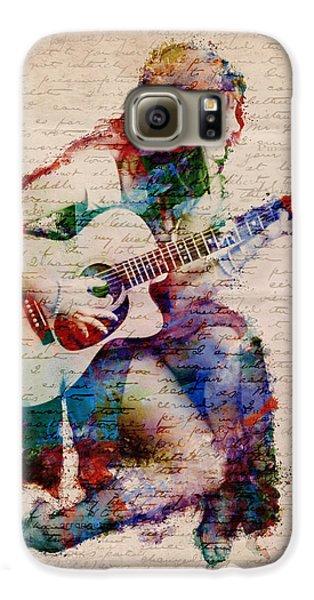 Rock And Roll Galaxy S6 Case - Gypsy Serenade by Nikki Smith