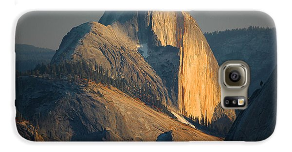 Half Dome At Sunset - Yosemite Galaxy S6 Case