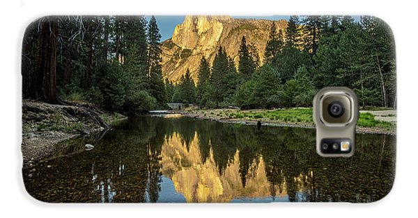 Half Dome From  The Merced Galaxy S6 Case by Peter Tellone