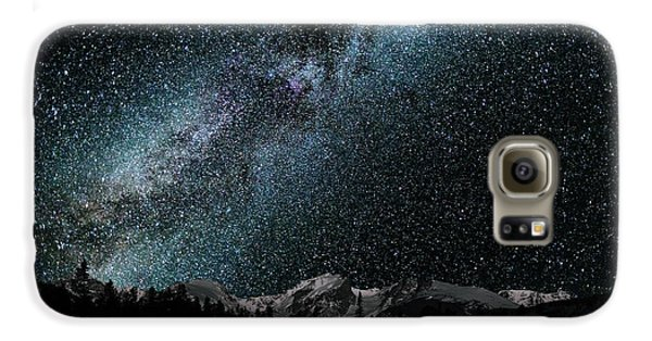 Hallet Peak - Milky Way Galaxy S6 Case