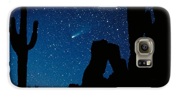 Desert Galaxy S6 Case - Halley's Comet by Frank Zullo